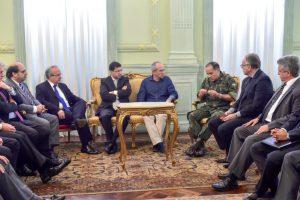 アルトゥンギエスピリトサント州知事は、保安対策会議を招集した(Leonardo Duarte/Secom-ES)