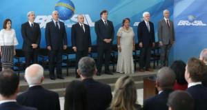 3日の就任式の模様(Antonio Cruz/Agência Brasil)