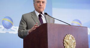 13日のテメル大統領(Marcos Corrêa/PR)