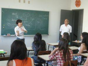 同協会が運営する日本語学校の様子(同協会サイト)