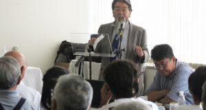 「ドナ・マルガリーダの精神は当面変えるつもりはない」と説明する佐藤会長