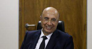 「景気後退は終わった」と語るエンリケ・メイレレス財相(Marcelo Camargo/Agência Brasil)