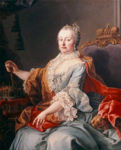マリア・テレジア神聖ローマ皇后(Martin van Meytens [Public domain], via Wikimedia Commons)