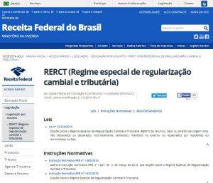 国税庁サイトのRERCT特別制度のページ