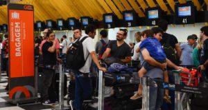 サンパウロ、コンゴーニャス空港の様子(Rovena Rosa Agencia Brasil)