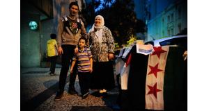 ブラジルで暮らすシリア難民の人々(Fernando Frazão/Agência Brasil)