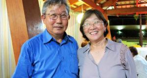 谷口エドゥアルドさんと妻イザウラさん