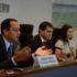 元知事を巡る新たな作戦について記者会見で語る連邦検察庁のロドリゴ・チモチオ検事(Tomaz Silva/Agência Brasil)