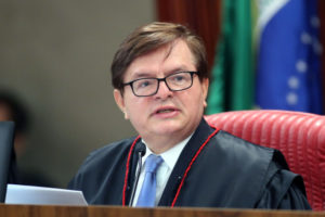 ジウマ/テメル裁判の報告官、エルマン・ベンジャミン判事(Roberto Jayme/Ascom/TSE)