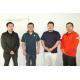 (左から)倉智さん、吉村さん、一松さん、田中さん