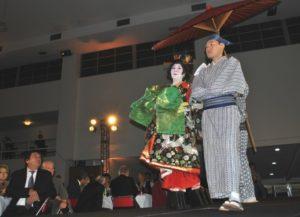 花魁の踊りの衣装