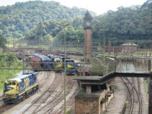 現在のパラナピアカーバ駅周辺