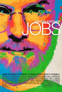 2013年公開の映画「ジョブズ」のポスター