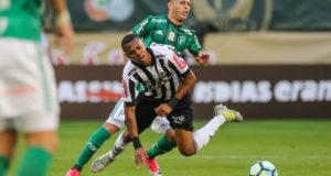 6月4日、パルメイラスとアトレチコ・ミネイロの強豪同士の一戦は、0対0の引き分けに終わった(Bruno Cantini/Atlético)