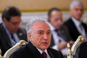 21日、ロシアでのテメル大統領(Beto Barata/PR)