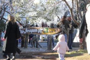 サンタカタリーナ州の町には、氷柱目当ての観光客も(参考画像James Tavares/Secom)