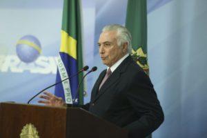 11日のテメル大統領(Valter Campanato/Agência Brasil)