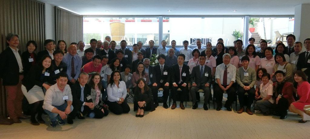 南米4カ国から参加した農協関係者