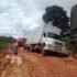 国道163号線で立ち往生するトラック(参考画像 - 53º BIS)