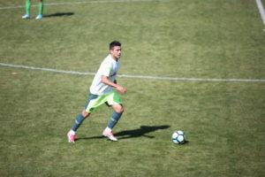 飛行機事故から239日ぶりに練習試合に出場した、シャペコエンセのアラン・ルシェル(Sirli Freitas)