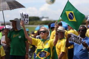 汚職撲滅を求める国民の声は顧みられないのか…(Antonio Cruz/Agência Brasil)