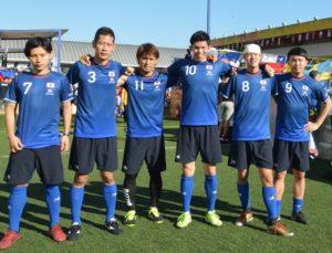 日本代表の「KING GEAR FC」
