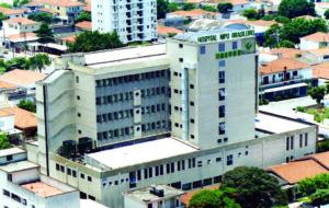 1988年設立時の日伯友好病院