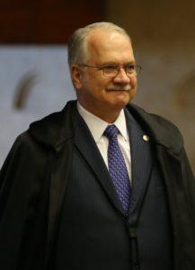ラヴァ・ジャット作戦の担当、ファキン最高裁判事(Foto: Jose Cruz/EBC/FotosPublicas)