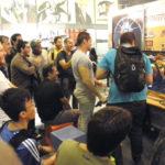 アキバスペースのゲームコーナーは常時白熱!