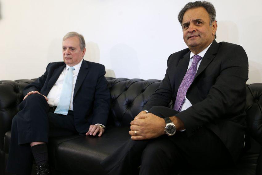 タッソ氏とアエシオ氏(Marcelo Camargo/Agência Brasil)