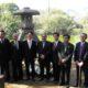 ポルト・アレグレ=金沢市が徽軫灯篭を寄贈=姉妹都市50周年、友好の証