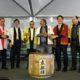 ポルト・アレグレ=金沢市姉妹提携50周年=日本祭りで盛大に祝う=記念に「徽軫灯篭」を寄贈