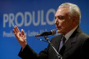 テメル大統領(Alan Santos/PR)