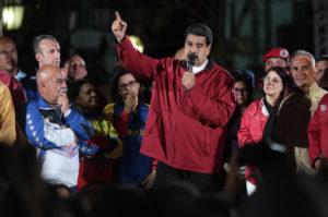 7月30日の選挙後のマドゥーロ大統領(Governo da Venezuela)