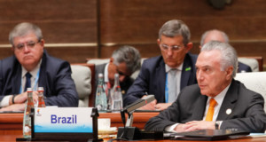 Brics会議でのテメル大統領(Rogério Melo/PR)