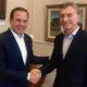 ドリア・サンパウロ市長がPSDBとの不仲説否定=アルゼンチン大統領との面会の席で