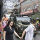 リオ市=ロッシーニャに戦車や兵士=麻薬組織の抗争に軍派遣=学校は休みだが商店は再開