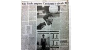 97年9月18日のエスタード紙のカカーの特集記事