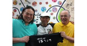 森田泰人マルシオ、高巣浩一、森田泰司さん(左から)