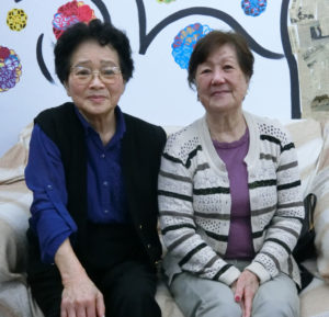 (左から)吉井会長、今井副会長
