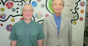 (左から)森名誉教授、幸脇理事
