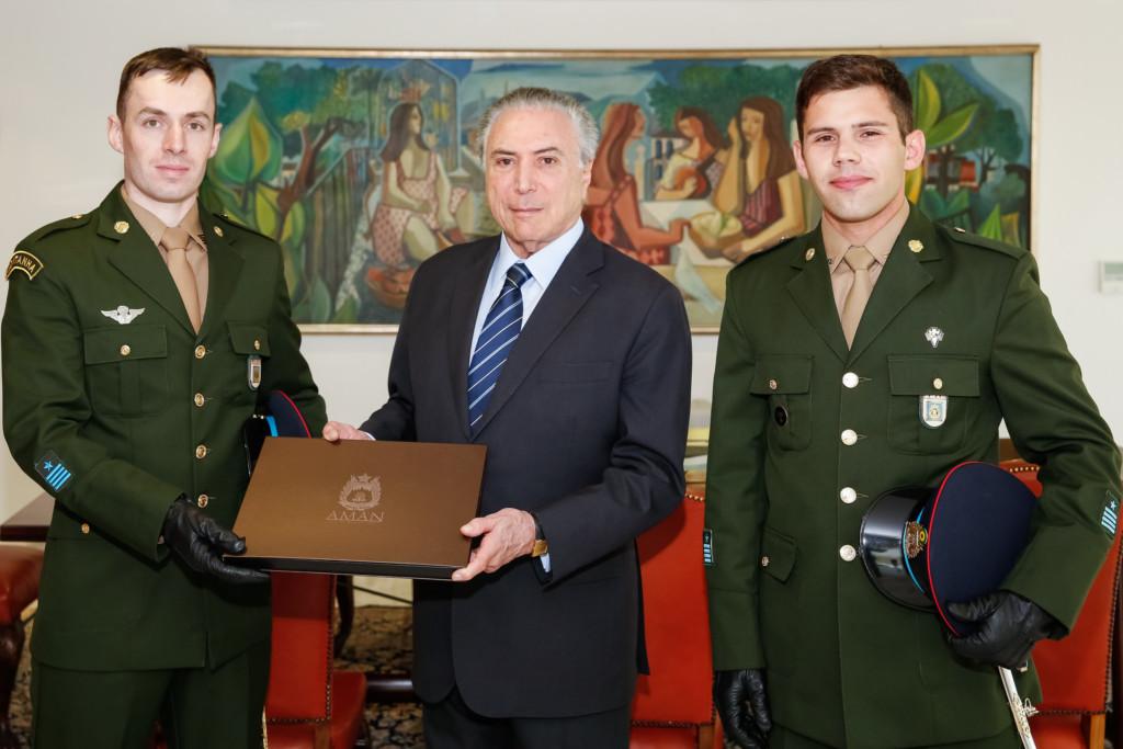 25日のテメル大統領(Marcos Corrêa/PR)