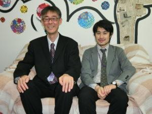 (左から)松尾さん、山さん
