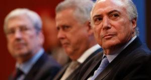 16日のテメル大統領(Alan Santos/PR)