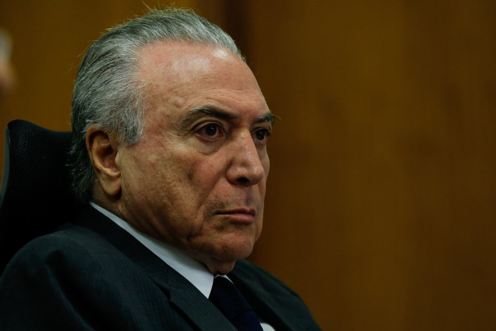 テメル大統領( Marcos Corrêa/PR )