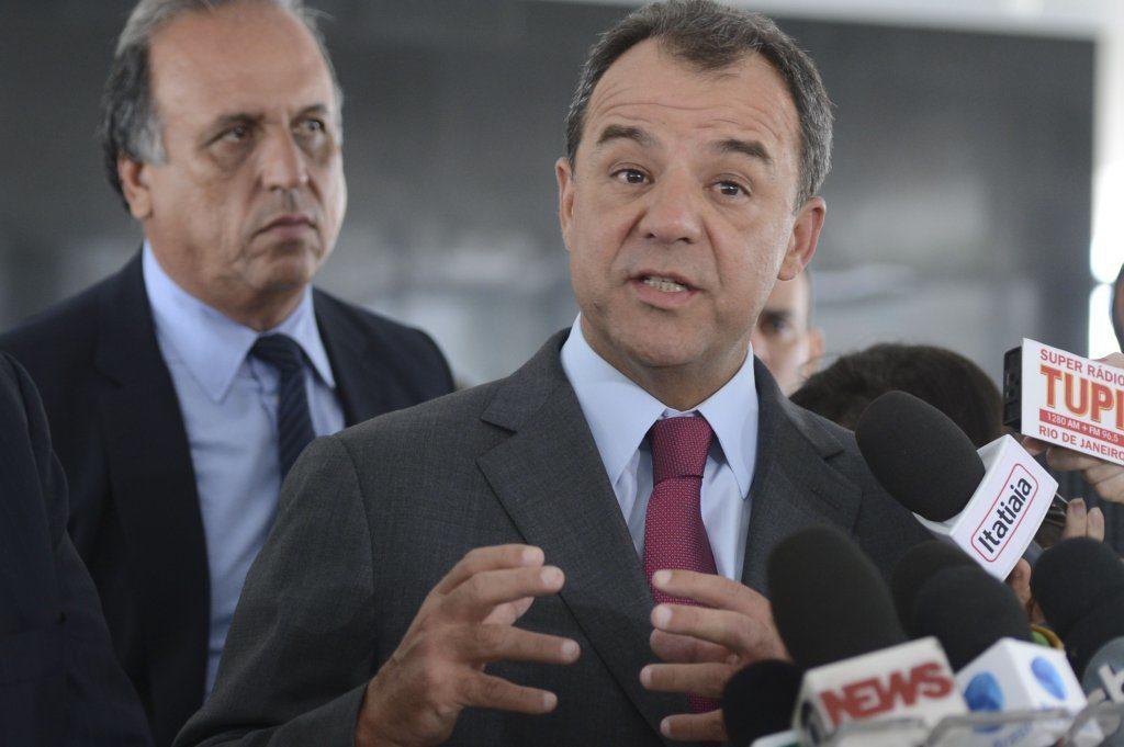 リオ州知事を務めていた頃のセルジオ・カブラル被告(Antônio Cruz/ Agência Brasil)