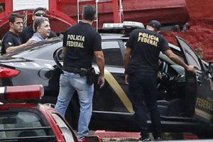 22日に逮捕されたガロチーニョ氏(Fernando Frazão/Agência Brasil)