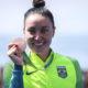 女性日系ブラジル人スイマー、ポリアーナ・オキモト引退=リオ五輪で銅メダル獲得も、競技継続に必要な支援得られず