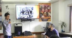青年会が主催した講演会