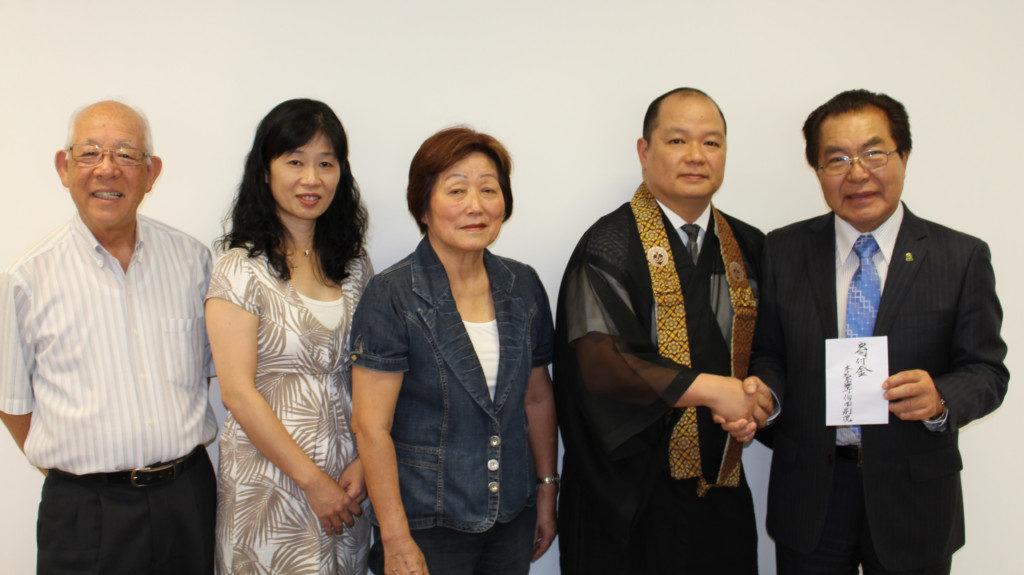 (左から)吉瀬さん、喜多山さん、西村さん、安中さん(提供写真)